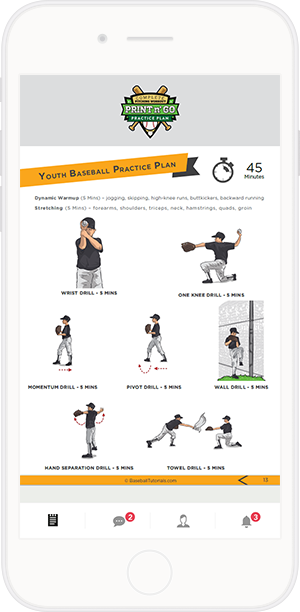 A Fully Ilrated Step By Pitching Workout For Youth Baseball